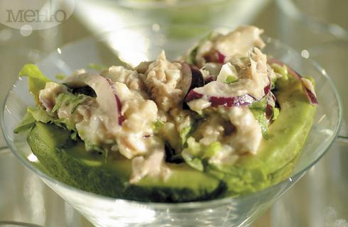 Снимка за Пълнено авокадо